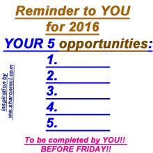 5 opportunities
