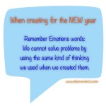 Remember Einsteins Words