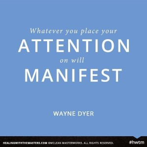 Yes, what is your attention and intention?  It will manifest.